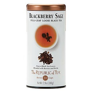 Blackberry Sage Black Full-Leaf from The Republic of Tea