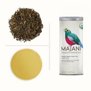 Faraja Organic Green Tea from MAJANI