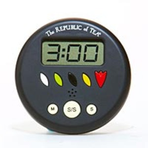 The People&#x27;s Tin Lid Timer by The Republic of Tea from Teaware