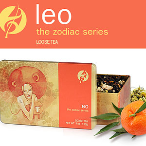 Leo. The Zodiac Series. New from Adagio Teas