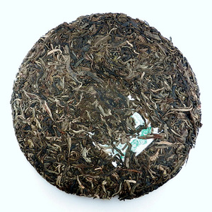 2008 Green Raw Pu-Erh from Tiberias Tea