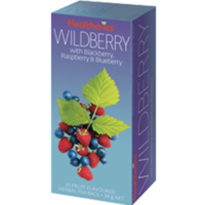 Wildberry with Blackberry, Raspberry & Blueberry from Healtheries