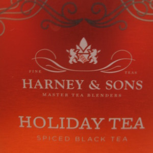 Holiday Tea from Custom - Harney and Sons