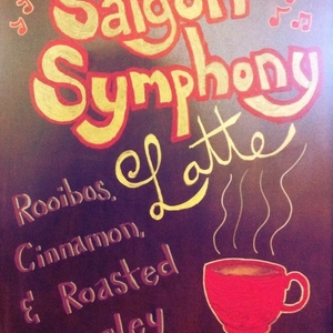 Saigon Symphony Latte from Bird Pick Tea & Herb