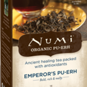 Emperor's Pu-erh from Numi Organic Tea