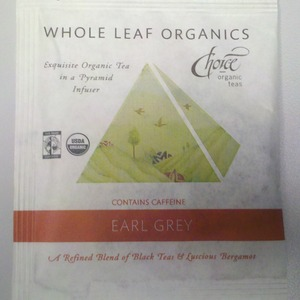 early grey from Choice Organic Teas
