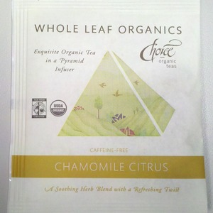 Chamomile Citrus from Choice Organic Teas