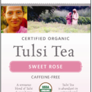 Sweet Rose Tulsi Tea from Organic India