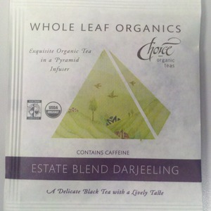 Estate Blend Darjeeling from Choice Organic Teas