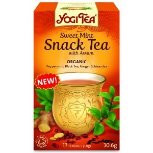 Sweet Mint Snack Tea with Assam from Yogi Tea