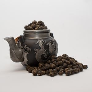 Golden Black Dragon Pearls from Savoy Tea Company