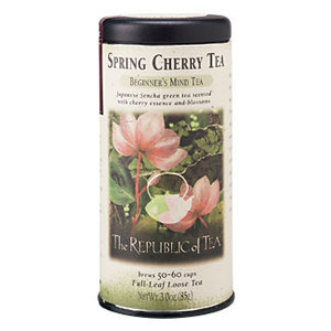 Spring Cherry Green Tea from The Republic of Tea