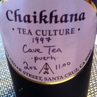 Cave Tea Puerh, 1997 from Chaikhana Tea Culture
