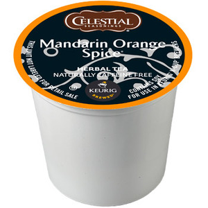 Celestial Seasonings Mandarin Orange Spice Herb Tea from Celestial Seasonings