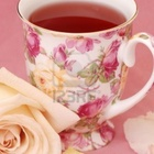 Rooibos Strawberry Cream no. 1381 from Tin Roof Teas