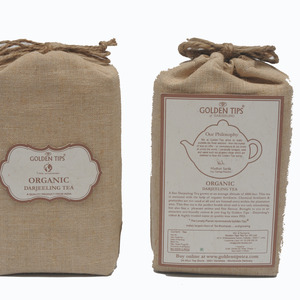 Organica Jute Bag - Darjeeling Tea by Golden Tips Tea from Golden Tips Teas