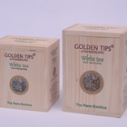 White Exotica Wooden Box by Golden Tips Tea from Golden Tips Teas