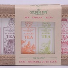 6-in-1 - Darjeeling, Assam, Nilgiri, Kangra, Dooars, Sikkim Teas by Golden Tips Tea from Golden Tips Teas