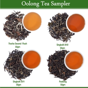 Oolong tea Sampler (4x50gm) by Golden Tips Tea from Golden Tips Teas