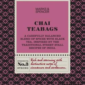 Chai from Marks & Spencer Tea
