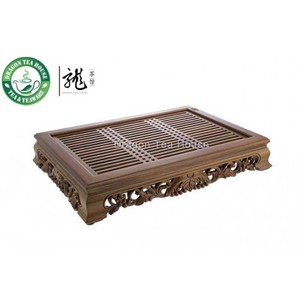 Large Grape Sandalwood Tea Table from Dragon Tea House