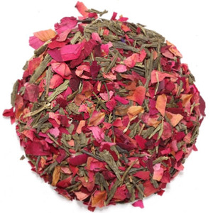 Rose Petal Green Tea from Nature&#x27;s Tea Leaf