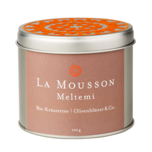 Meltemi - organic herbal tea olive &amp; co. from La Mousson