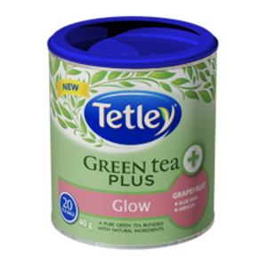 Green Tea Plus Glow from Tetley
