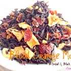 Blood Orange Mocha {Herbal &amp; Black Tea Blend} from iHeartTeas