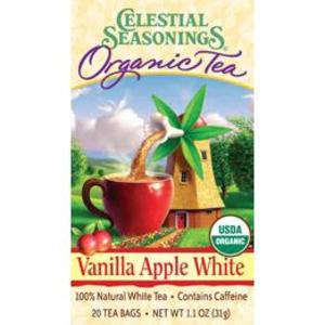 Vanilla Apple White Organic Tea from Celestial Seasonings