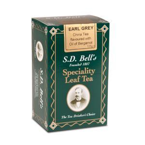 China Black Earl Grey from Best International Tea (S.D. Bell)
