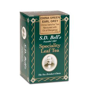China Green Earl Grey from Best International Tea (S.D. Bell)