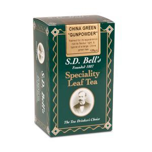 China Green Gunpowder from Best International Tea (S.D. Bell)