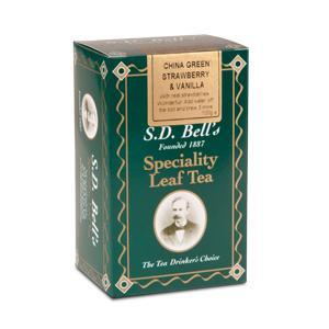 China Green Strawberry & Vanilla from Best International Tea (S.D. Bell)