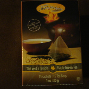 Maple Green Tea from Canadian Maple Delights, Gourmet Bistro and Shoppe