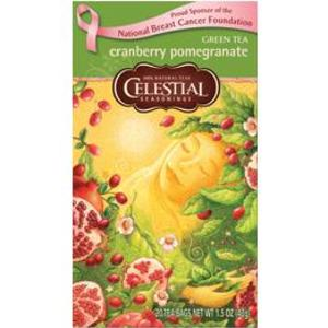 Cranberry Pomegranate Green Tea from Celestial Seasonings