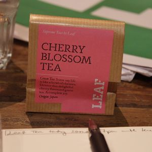 Cherry Blossom Tea from Leaf Tea Shop