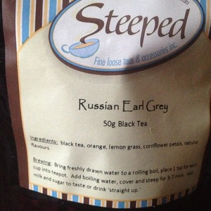 Russian Earl Grey from Steeped Tea