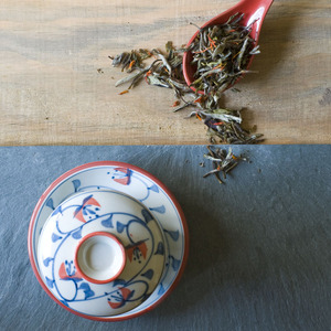 Organic Pomegranate White Tea from Divinitea