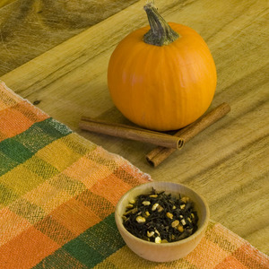 Organic Pumpkin Spice Tea from Divinitea