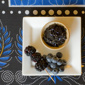 Organic Black & Blue from Divinitea