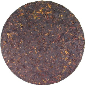 Xiaguan Organic Old Tree Iron Puer Cake 2009 Raw from Dragon Tea House