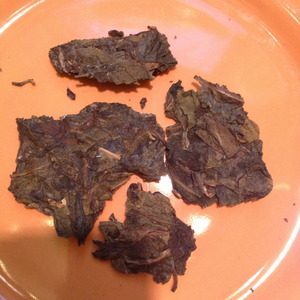 Big Leaf Sheng Pu'er 2006 Yang Ji Tian Yuan from Verdant Tea