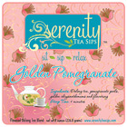 Golden Pomegranate from Serenity Tea Sips, LLC