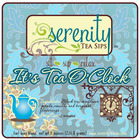 It's Tea O'Clock from Serenity Tea Sips, LLC