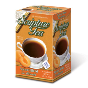 Apricot Tea Decaf from Scripture Tea