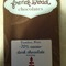 Lapsang Souchong &amp; Sea Salt dark chocolate bar from Dobra Tea - French Broad Chocolates