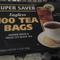 Orange Pekoe &amp; Pekoe Cut Black Tea Super Saver Tagless 100 Tea Bags from Super Saver