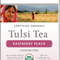 Raspberry Peach Tulsi Tea from Organic India