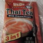 DeDe Instant Thai Tea with Cream /Sugar from DeDe